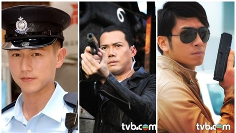 6 chàng cảnh sát hấp dẫn 'khó cưỡng' nhất màn ảnh Hồng Kông