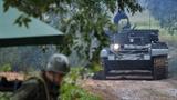 Hình ảnh Quân khu miền Đông Nga báo động chiến đấu