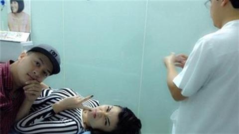 Sao Việt bị ném đá vì khoe ảnh nhập viện