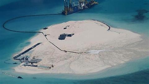 Mỹ lên tiếng việc Trung Quốc xây đảo Gạc Ma