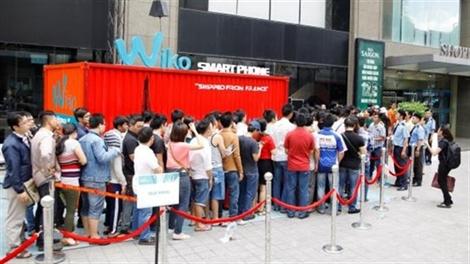 300 chiếc Smartphone Wiko đã đến tay khách hàng chỉ trong 3 giờ đồng hồ