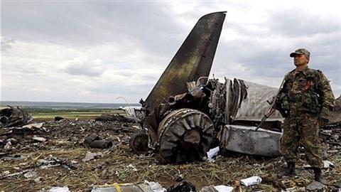Kẻ thay thế máy bay Ukraine ở miền Đông