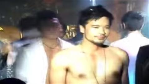 Chồng sắp cưới Ngọc Lan lộ clip cởi trần diễn bar gay