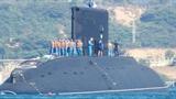 Tàu ngầm HQ-186 hoàn thành lắp ghép khoang