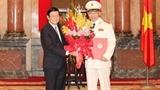 Trao quyết định thăng hàm Thượng tướng cho Thứ trưởng Tô Lâm