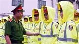 Áo mưa đạt chất lượng châu Âu của CSGT Hà Nội