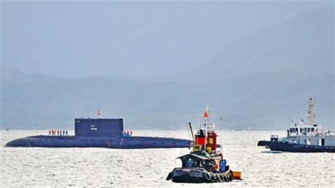 Lữ đoàn tàu ngầm 189 xuất quân huấn luyện