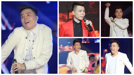 'Bật ngửa' với những biểu cảm cực khó đỡ của Trịnh Thăng Bình