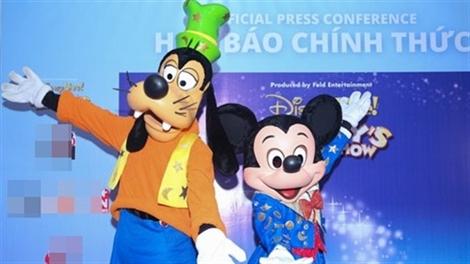 Quay về thế giới tuổi thơ tại Mickeys' Magic Show