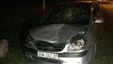 CSGT truy đuổi xe gây tai nạn rồi bỏ chạy trong đêm