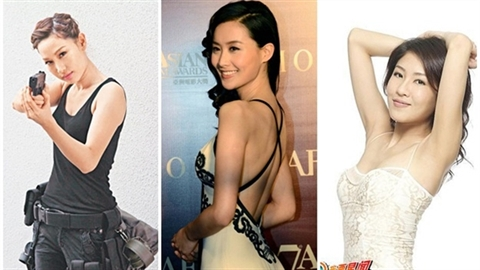 6 nàng cảnh sát 'chân dài' quyến rũ nhất màn ảnh Hồng Kông