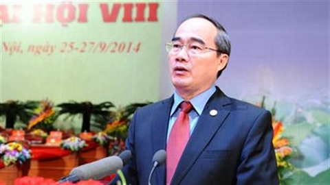 Ông Nguyễn Thiện Nhân tiếp tục được bầu làm Chủ tịch MTTQ