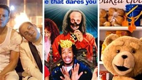 Top 7 phim hài 'bựa' không dành cho trẻ nhỏ