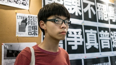 Thủ lĩnh biểu tình 17 tuổi ở Hồng Kông là ai?