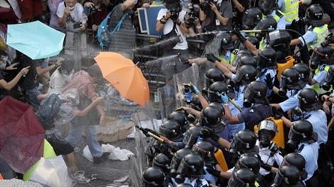 Hình ảnh Hồng Kông 'kiệt sức' sau cuộc biểu tình lịch sử