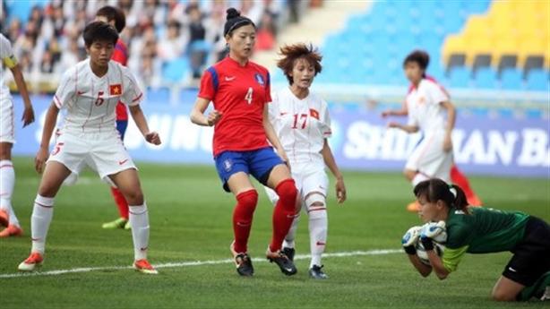 Highlights: Nữ Việt Nam 0-3 Hàn Quốc: Chênh lệch đẳng cấp