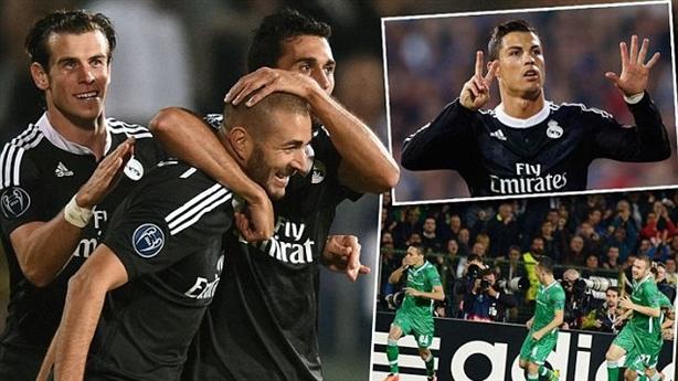 Highlights: Ludogorets 1-2 Real Madrid: 'Kền kền' thoát chết