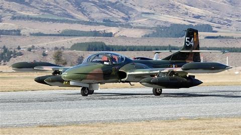 Phận thảm cường kích A-37 trong Không quân Mỹ