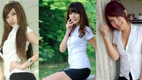 3 nữ sinh Thái bị báo cảnh sát vì mặc đồng phục sexy