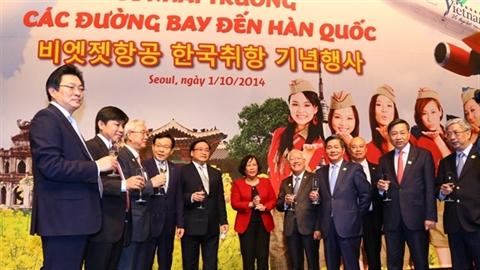 Bay Hàn Quốc dễ dàng và tiết kiệm hơn cùng Vietjet