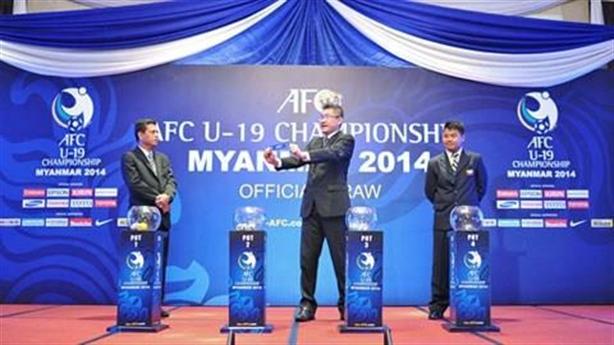 Lịch thi đấu vòng chung kết U19 Châu Á 2014