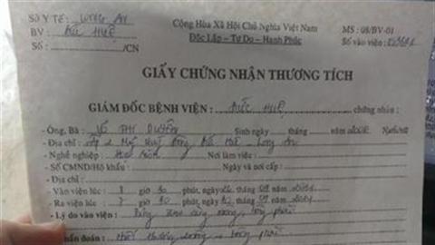 Thầy giáo bị tố đánh học sinh giỏi nhập viện