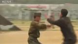 Tận mắt xem đặc công Triều Tiên tập luyện