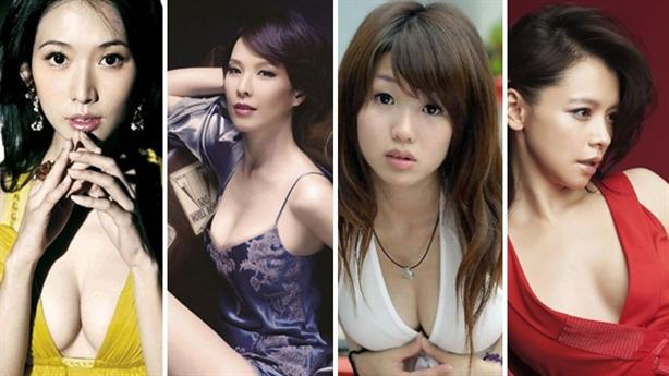9 kiều nữ sở hữu 'siêu vòng một' 'khó cưỡng' nhất xứ Đài