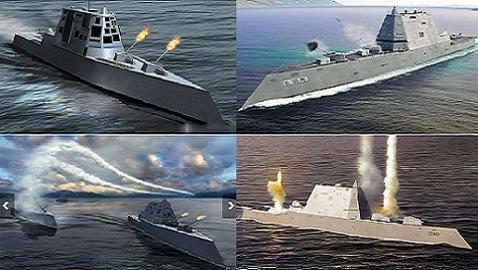Siêu hạm số 1 thế giới DDG-100 Zumwalt sắp chạy thử