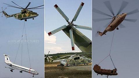 Nga bán cho TQ trực thăng vận tải số 1 thế giới