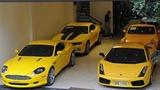Gara siêu xe màu vàng của đại gia Việt