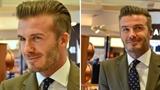 David Beckham lịch lãm một mình xuất hiện ở Singapore