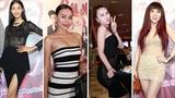 Dàn mỹ nhân showbiz diện váy ren 'táo bạo', trang phục xuyên thấu đến xem 'Gái hư''