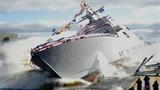 Mỹ hạ thủy chiến hạm tuần duyên LCS 7