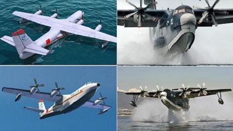 Giao Long-600 Trung Quốc vượt trội US-2 Nhật: Chuyện hoang đường!