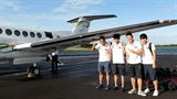 U19 Việt Nam hưởng thụ máy bay riêng và tiền bầu Đức