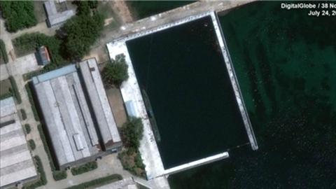 Lý lịch bất ngờ tàu ngầm thế hệ mới của Triều Tiên