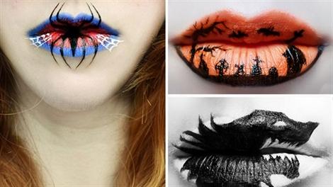 Làm sao để sở hữu đôi môi gợi cảm trong ngày Halloween?