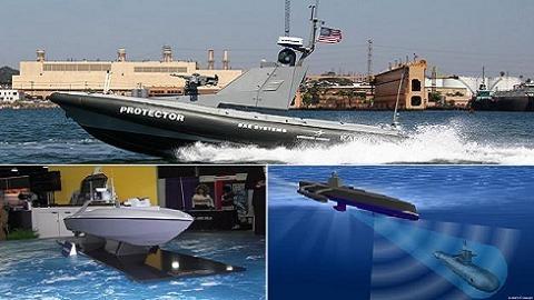 USV: Công nghệ thay đổi phương thức tác chiến hải quân