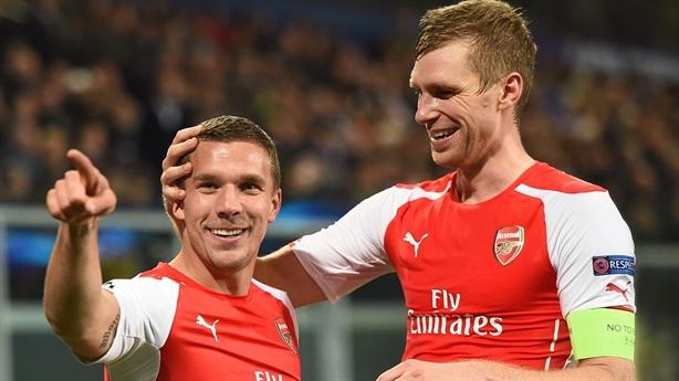 Highlights: Anderlecht 1-2 Arsenal (Group D)