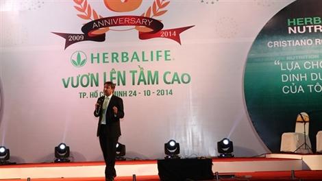 Hành trình sức khỏe Herbalife tiếp tục được tổ chức tại Việt Nam