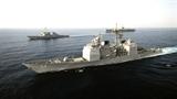 Tàu Mỹ khiến chiến hạm Trung Quốc từng chạm mặt khiếp vía
