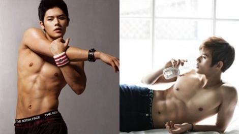 10 màn khoe thân gây sốt của mỹ nam Kpop