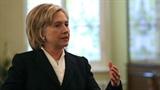 Hillary Clinton được đánh giá cao và không có đối thủ