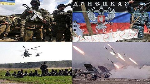 Ly khai đổi giờ theo Moscow,tuyên bố đánh chiếm toàn bộ Donbass