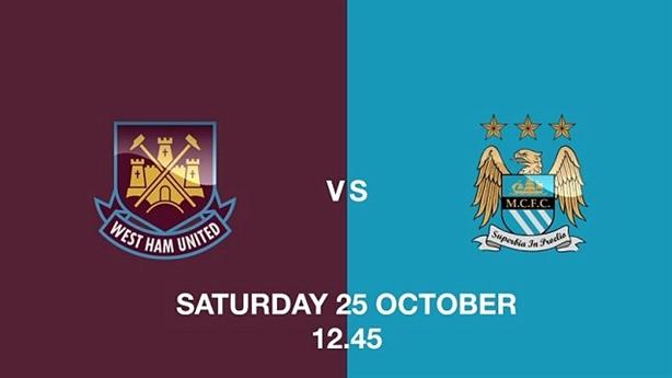 18h45, 25/10/14; West Ham - Man City: Những vị khách nôn nao