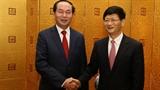 Quan chức cấp cao Việt-Trung liên tục gặp mặt