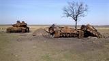 'Xe tăng Nga bị Ukraine tiêu diệt'