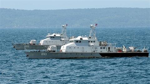 Campuchia huy động 1/4 lực lượng chiến hạm tập trận