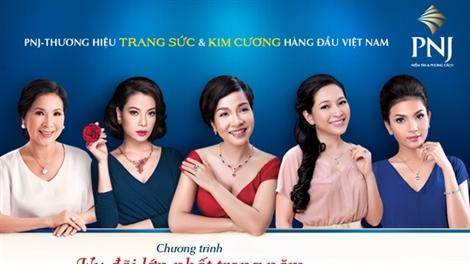 PNJ ưu đãi lớn nhất trong năm tại hội chợ quốc tế trang sức Việt Nam 2014 (VIJF 2014)